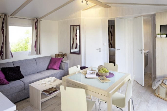Mobile home confort plus 2 chambres